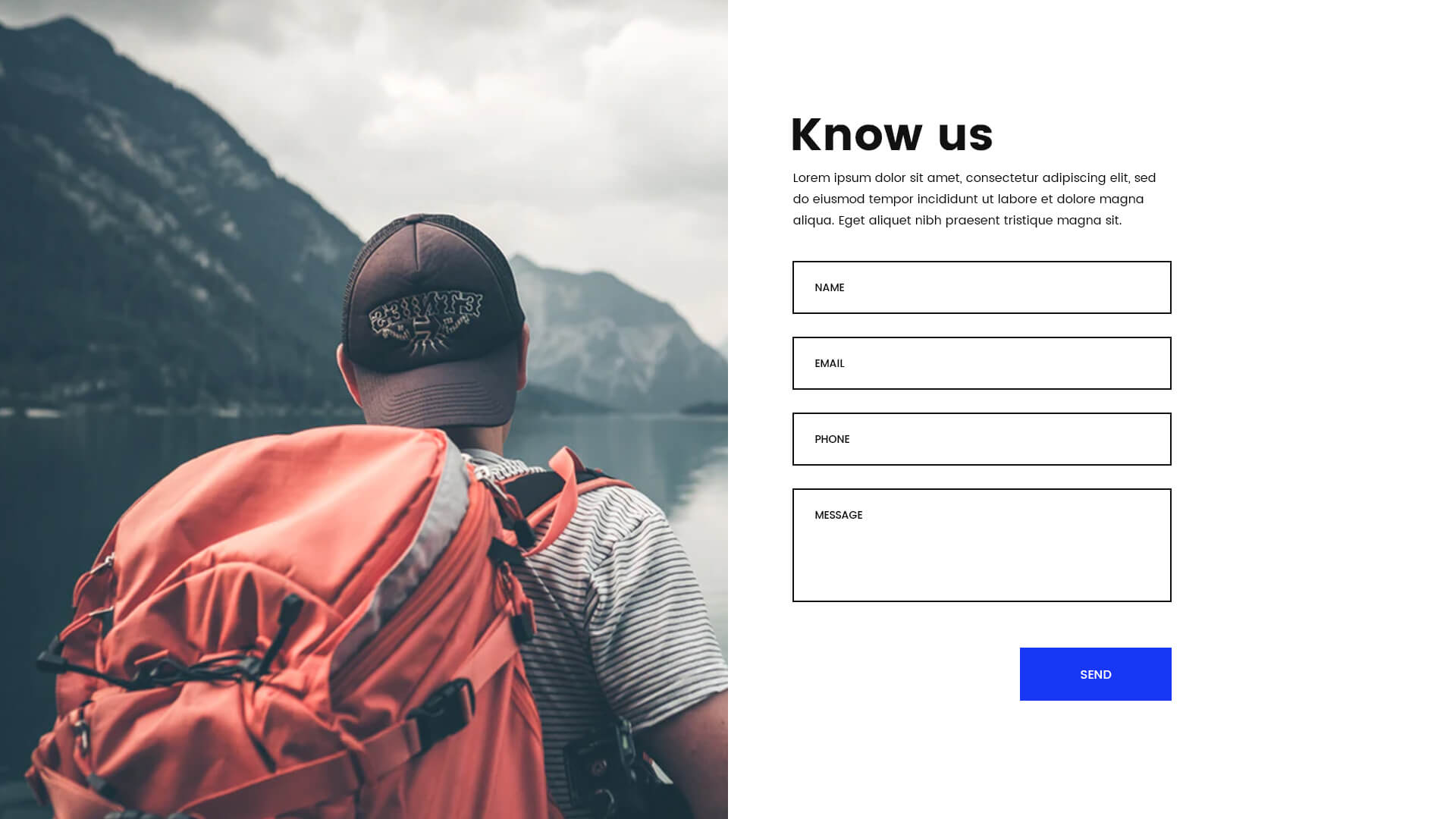 PowerPack Elements Template - Contact 3