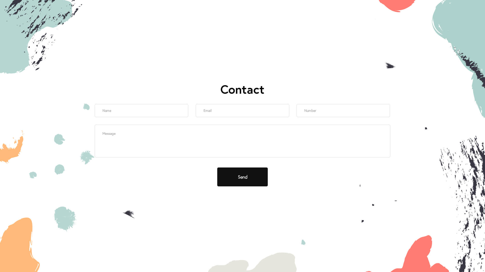 PowerPack Elements Template - Contact 4