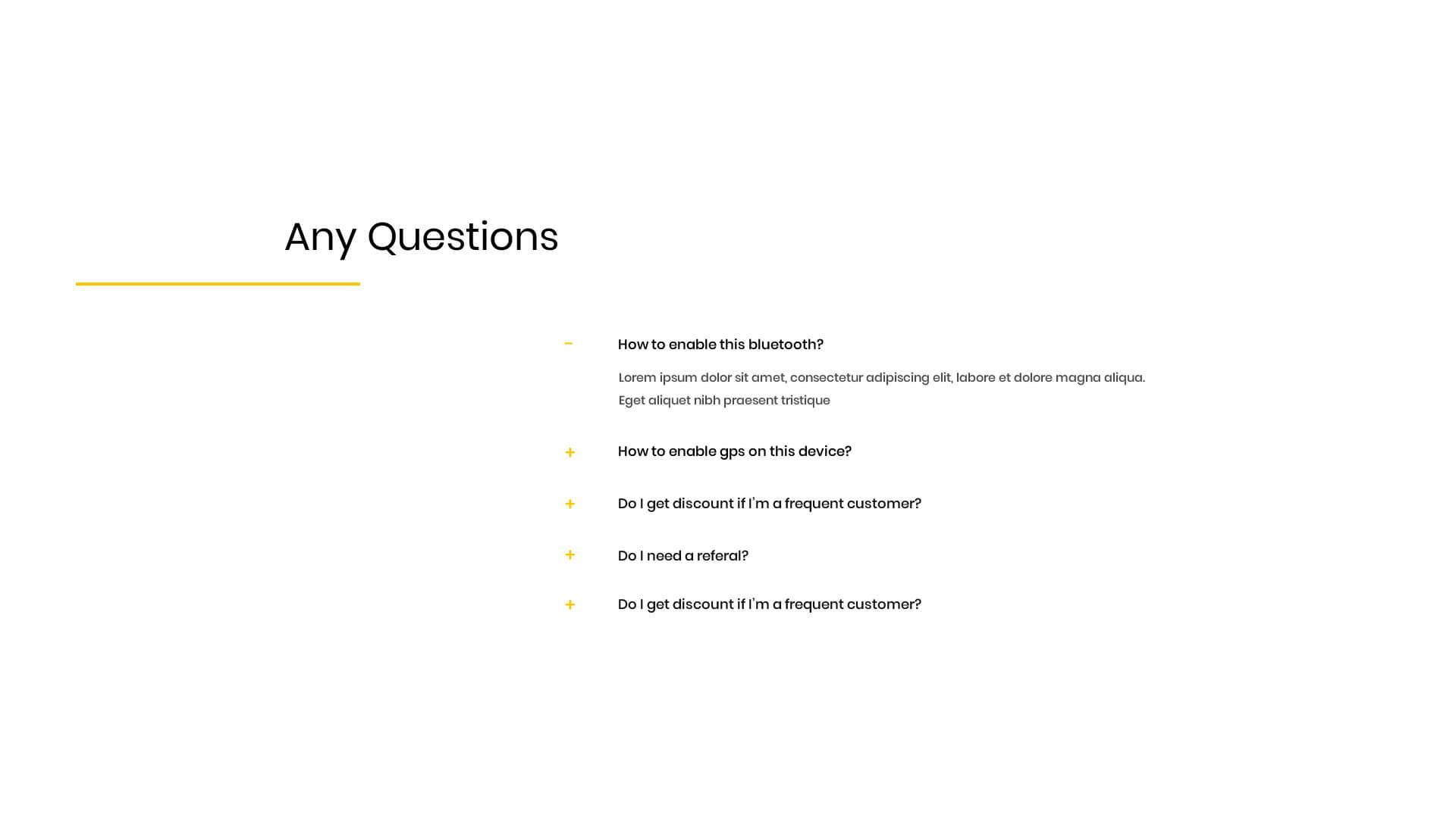 PowerPack Elements Template - FAQ 7