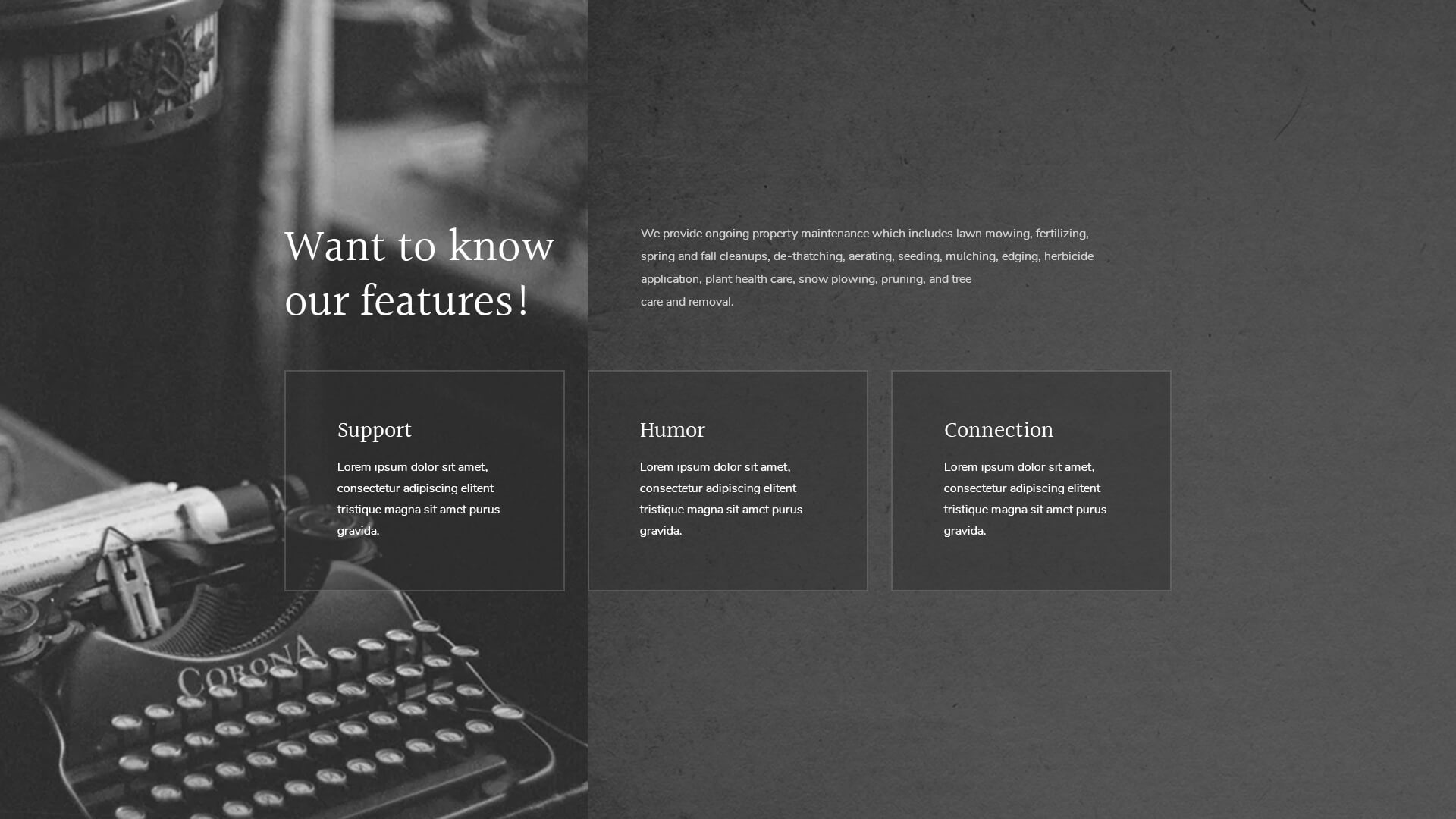 PowerPack Elements Template - Features 3