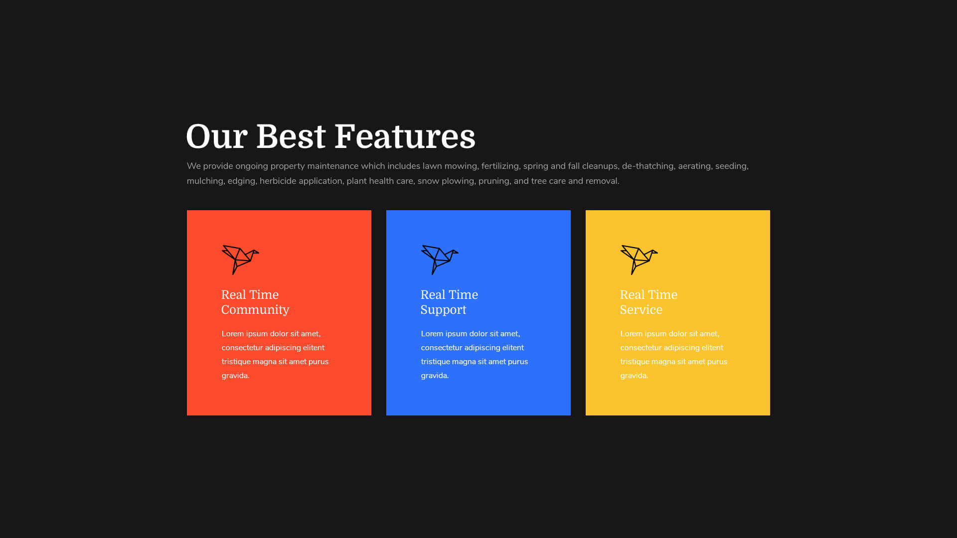 PowerPack Elements Template - Features 5