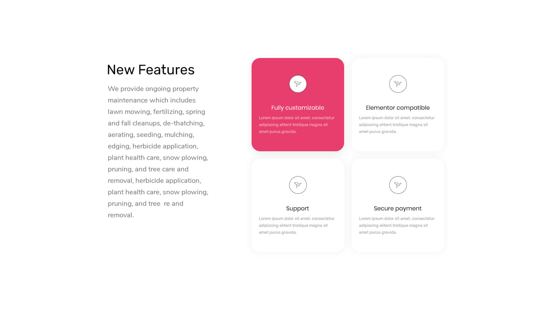 PowerPack Elements Template - Features 9