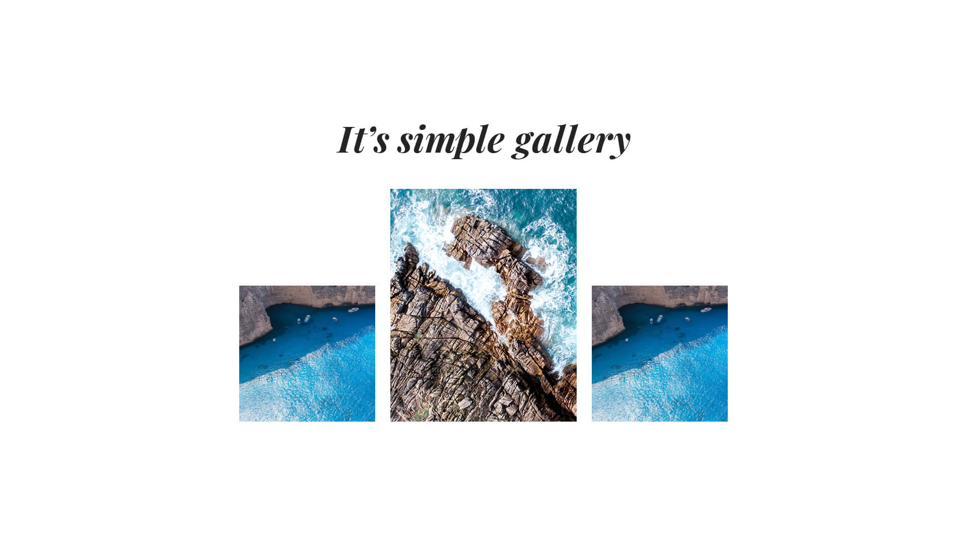 PowerPack Elements Template - Gallery 1