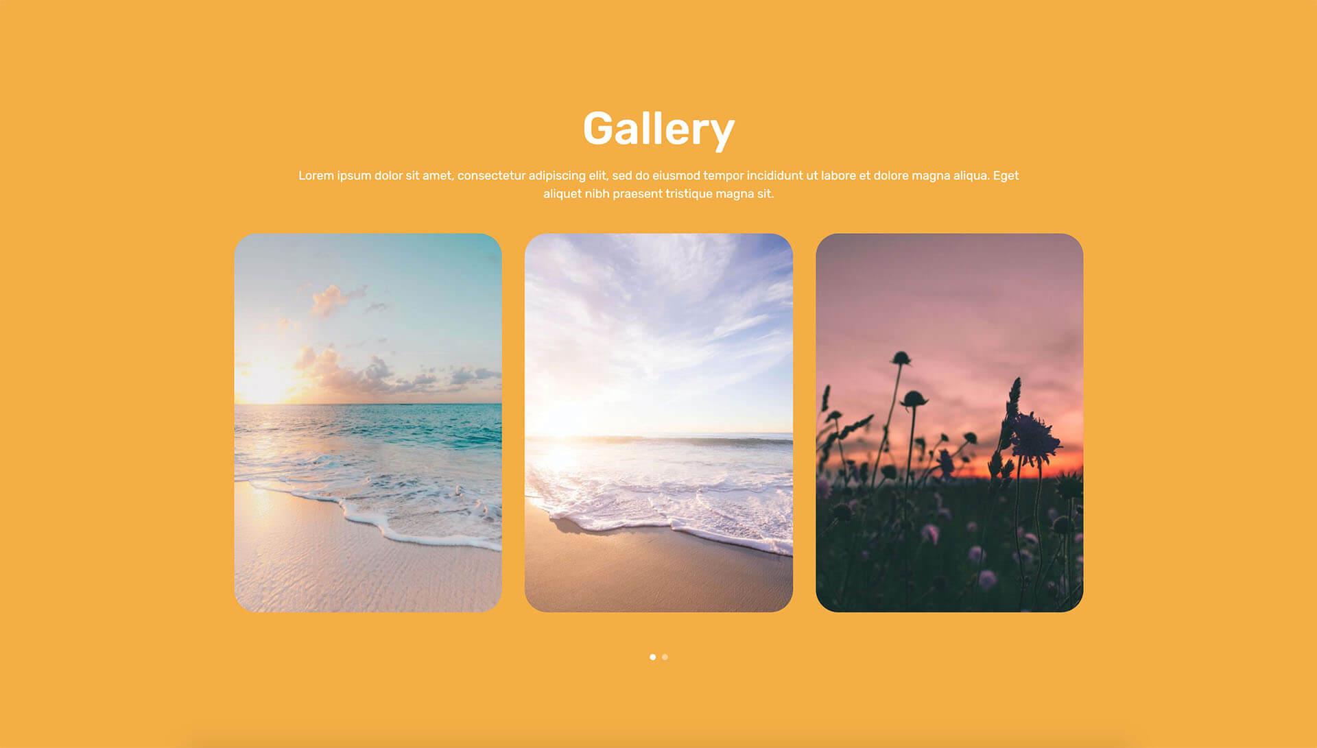 PowerPack Elements Template - Gallery 10