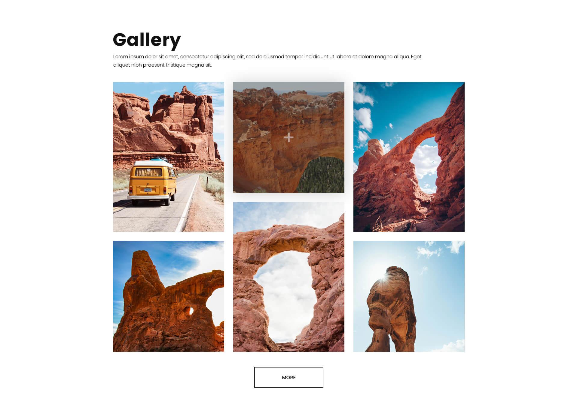 PowerPack Elements Template - Gallery 3