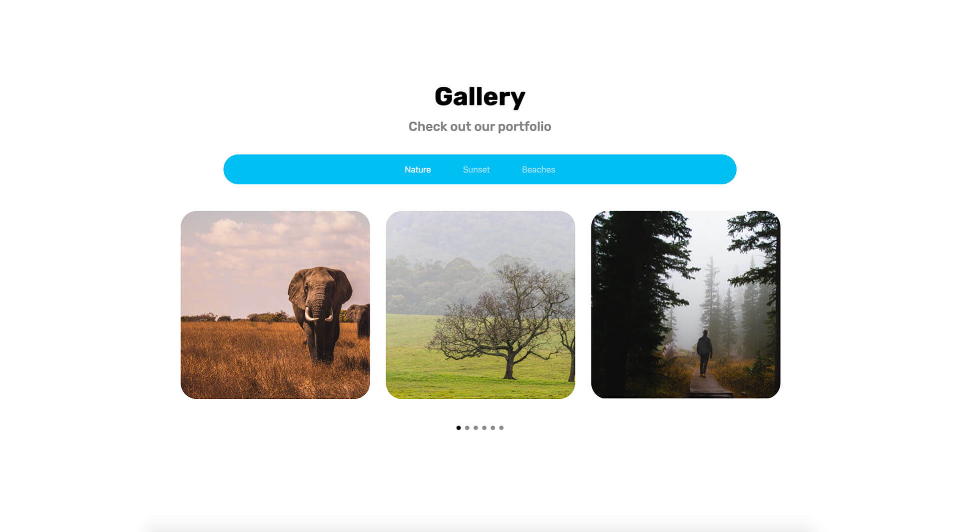 PowerPack Elements Template - Gallery 4