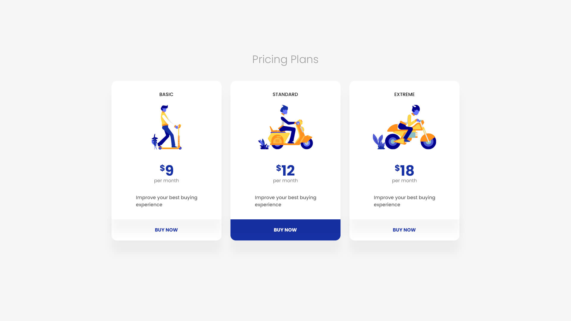 PowerPack Elements Template - Pricing 2