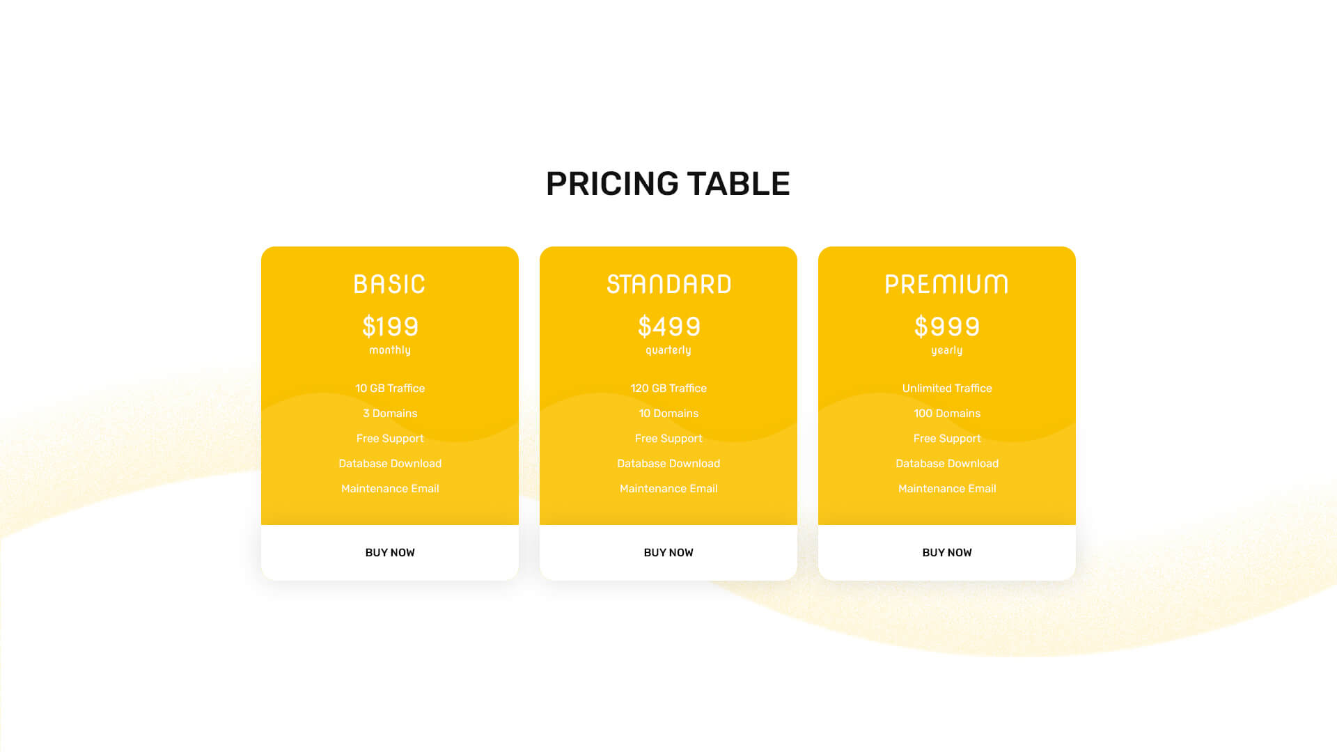 PowerPack Elements Template - Pricing 3