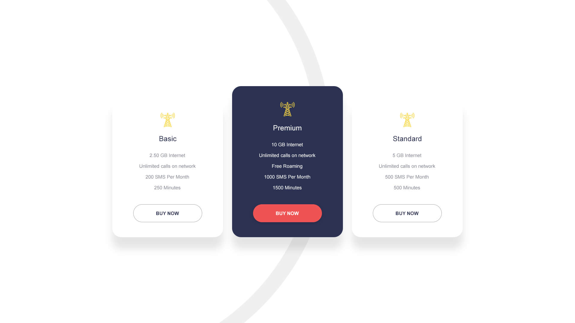 PowerPack Elements Template - Pricing 6