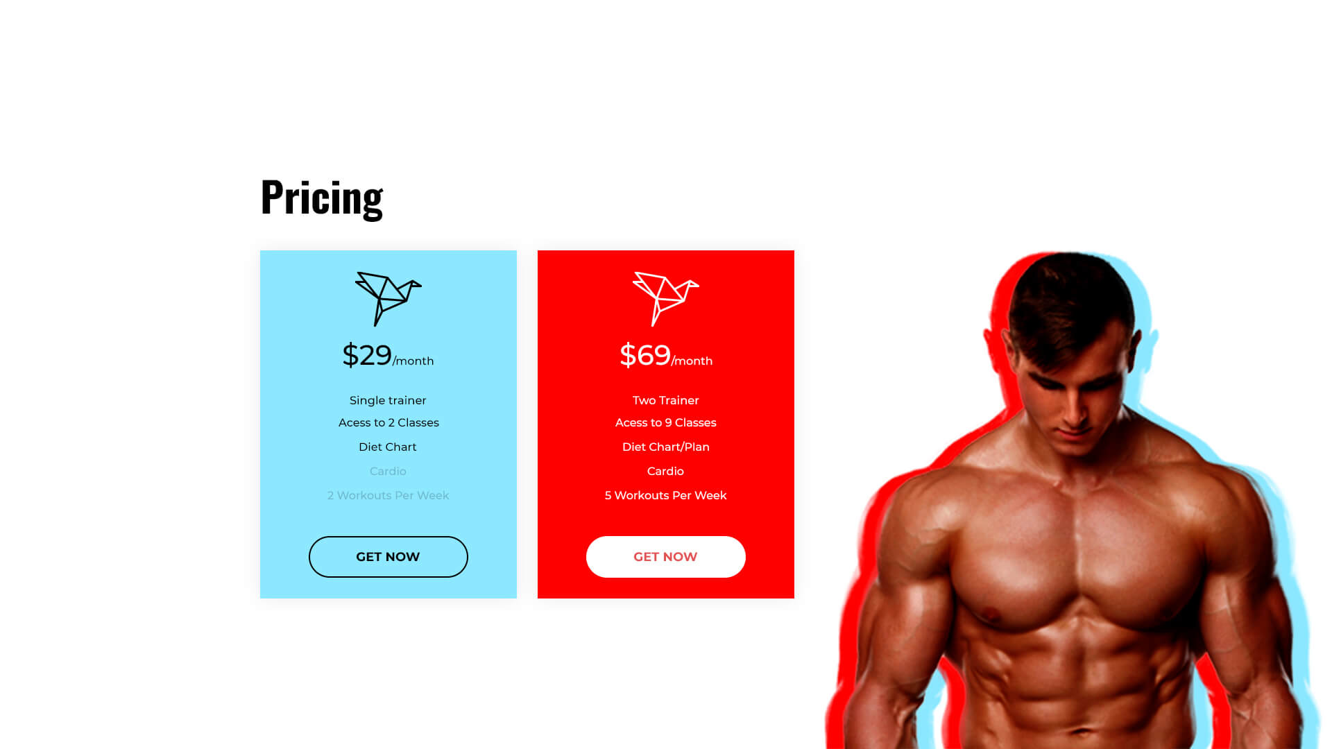PowerPack Elements Template - Pricing 8