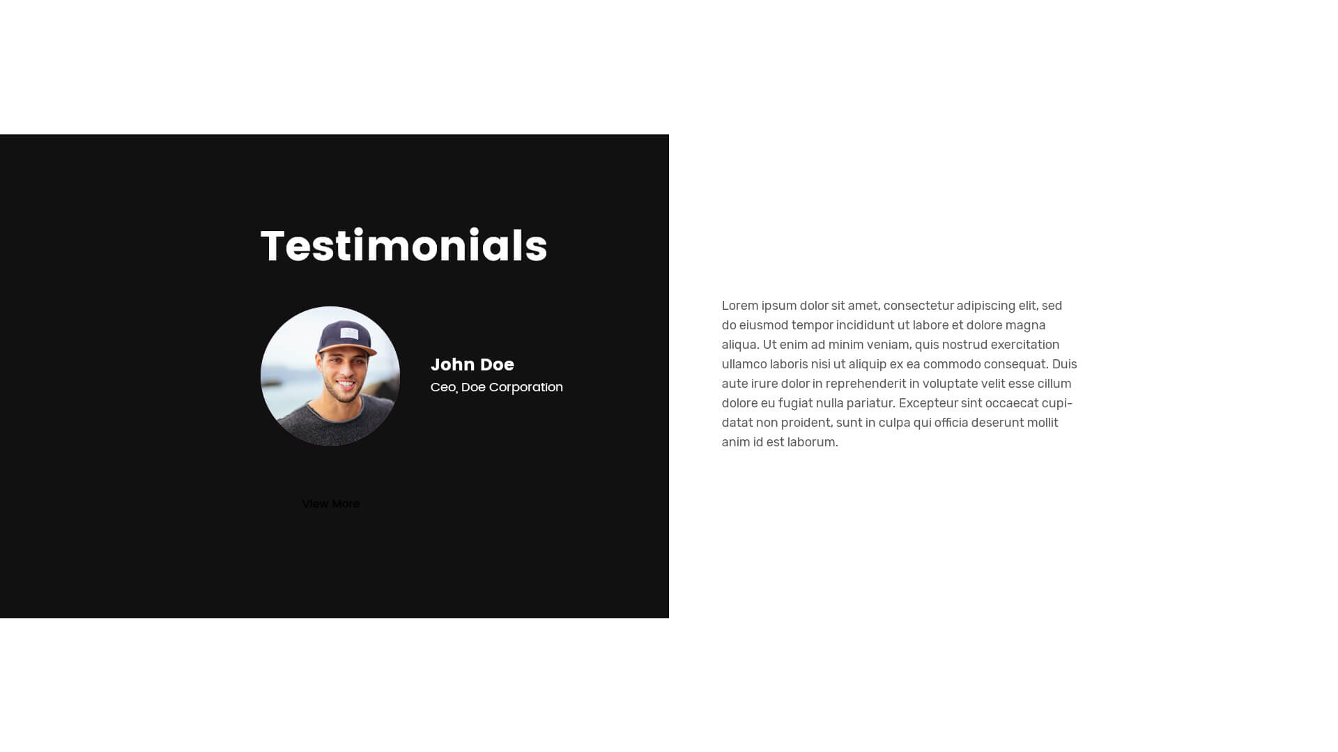 PowerPack Elements Template - Testimonials 2