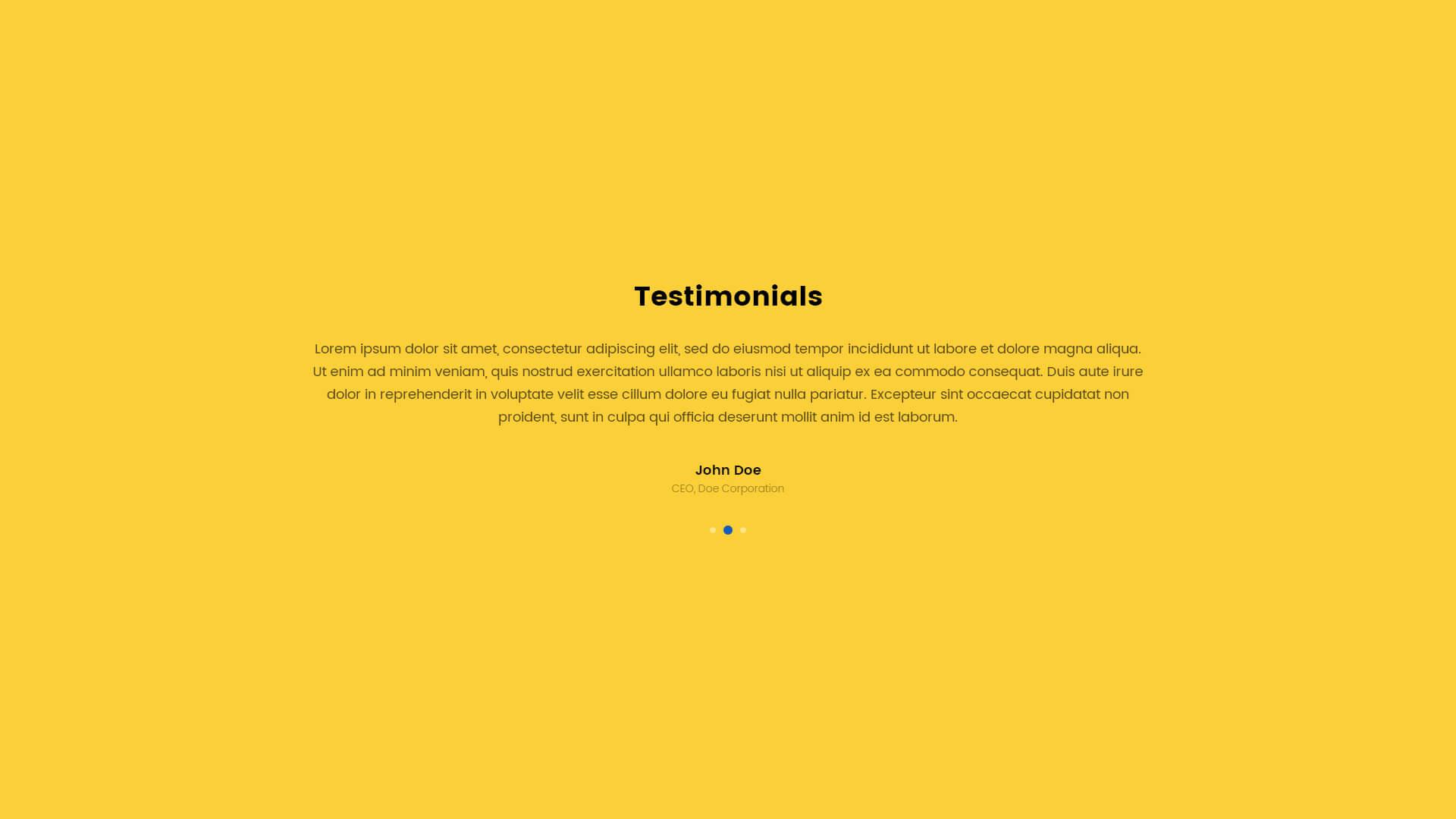 PowerPack Elements Template - Testimonials 6