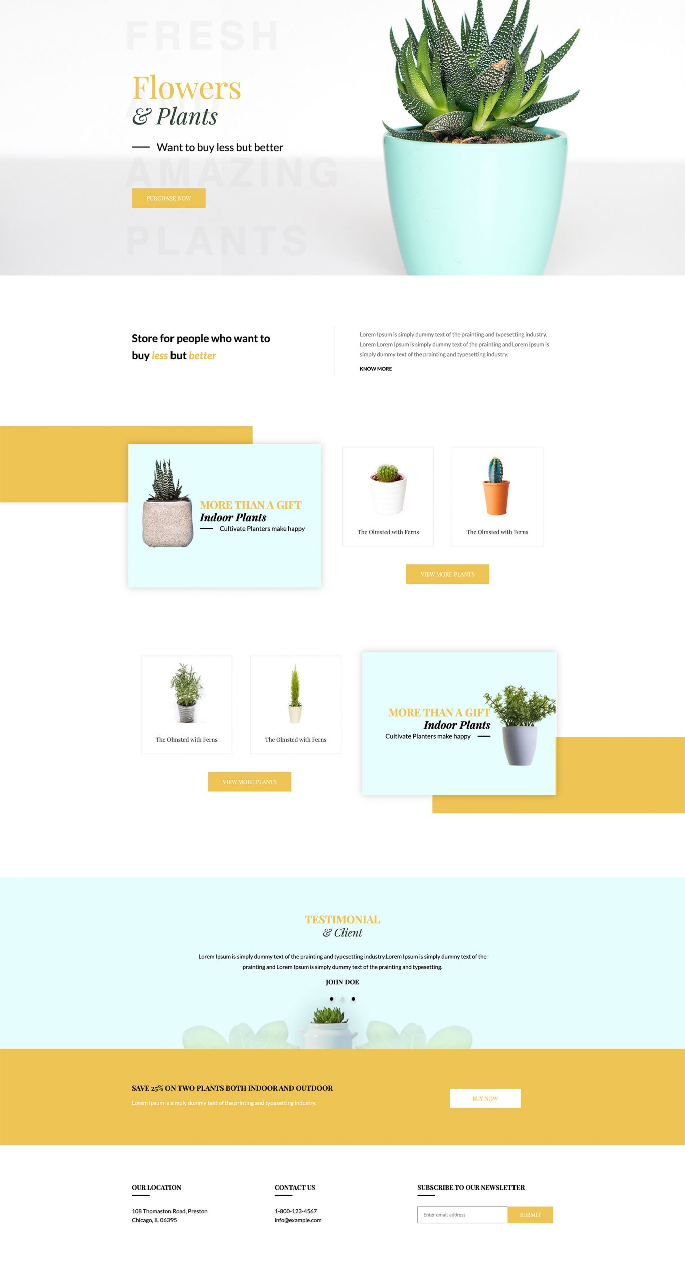 PowerPack Elements Template - Plantation
